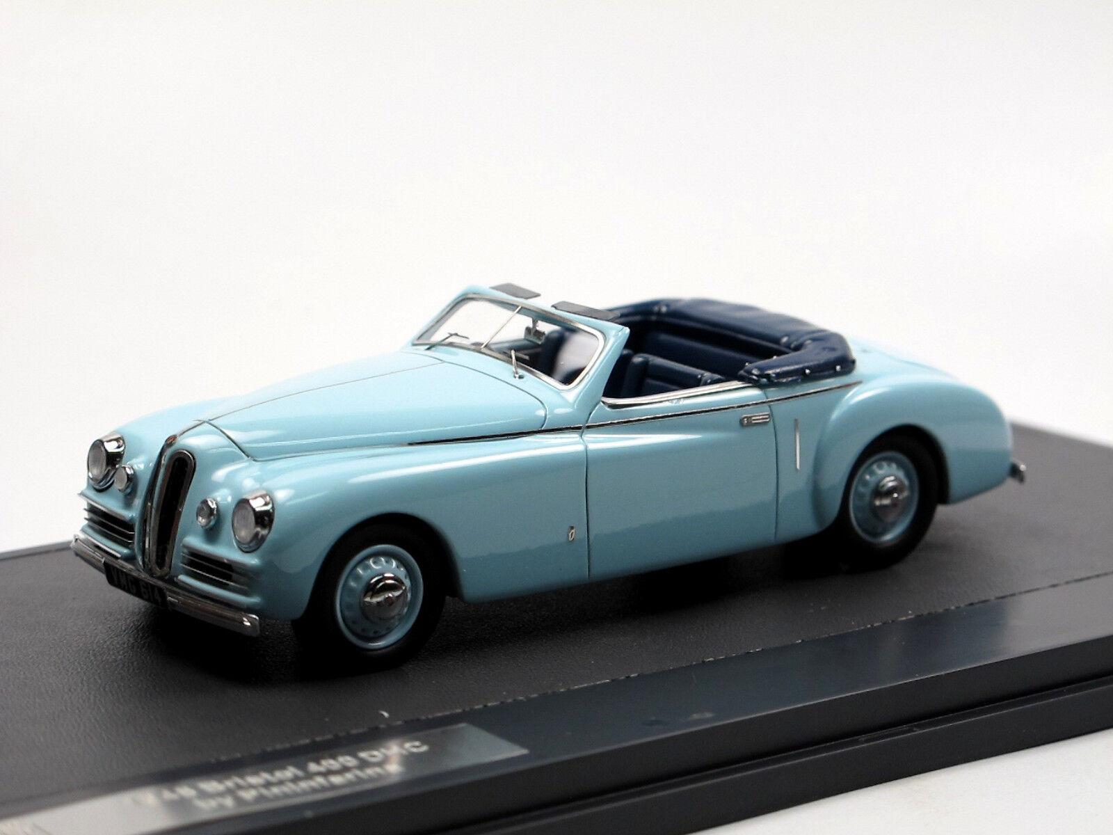 Matrix - modellen 1948 bristol 400 fernwärme   fernkälte - drophead coupé von pininfarina 1   43