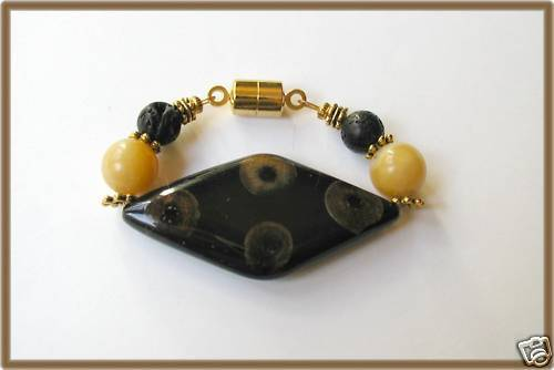 Scarf Clasp Clip Holder Natural Material Accessory for Scarves Wraps// Shawl