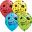 6-x-11-034-Printed-Qualatex-Latex-Balloons-Assorted-Colours-Children-Birthday-Party thumbnail 110