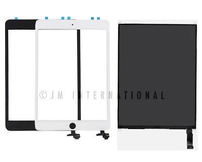 iPad Mini 1 2 3 LCD Touch Screen Digitizer Glass Lens Home Button Module USA