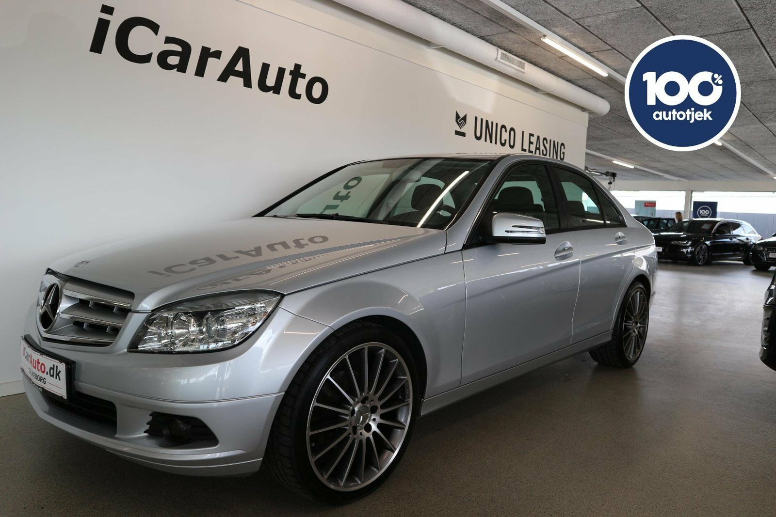 Mercedes C180 1,8 Avantgarde aut. BE 4d - 189.800 kr.