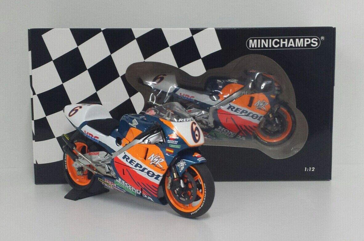 MINICHAMPS 1 12 MODELLINO HONDA NSR ALEX CRIVILLE WINNER GP 500 BARCELLONA 1995
