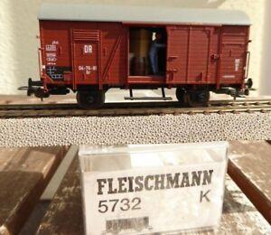 Fleischmann 5732 K H0 Wagon De Marchandises Gr Le Dr Ep.3 En Emballage