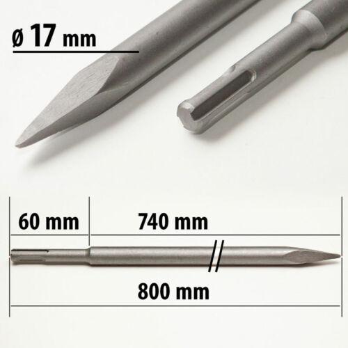 SDS Plus Spitzmeissel 250 mm 800 mm Pointmeißel Meissel 600 mm