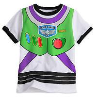 Disney Store Toy Story Buzz Lightyear Costume Boy T Shirt 5/6,7/8,10/12