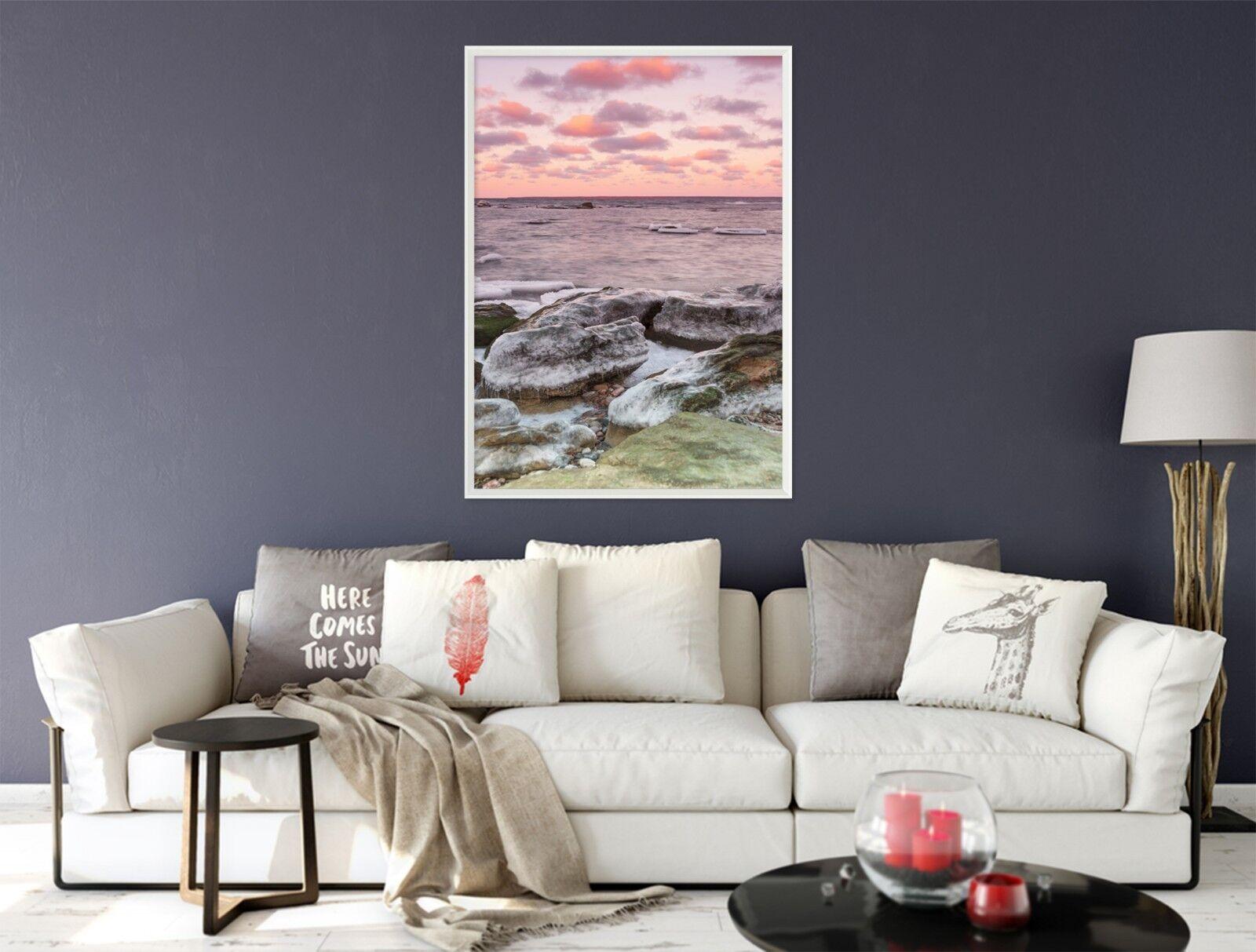 3D Haiping Line 6 Framed Poster Home Decor Print Painting Art AJ AU