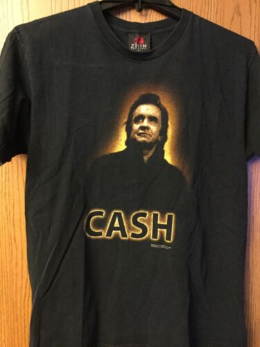 Johnny Cash.  2004 Black Shirt.  L.