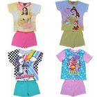 Filles Disney Beauté et Bête, Shopkins, MLP été Pyjama Ages 3 to 10 Ans