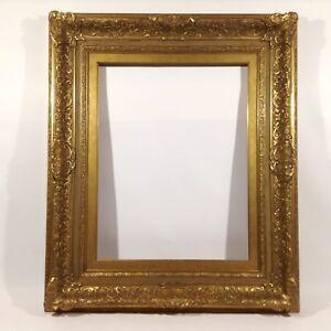 114 X 92 Cm Tableau Cadre Photo Ancien Cadre Baroque Rococo Photo Cadre Or