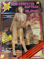 Erotik Kinoplakat ** JOHN HOLMES - SEIN STEIFSTER AUFTRAG 34 cm