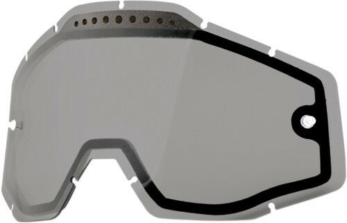 100 51006-007-02 Dual Vented Lens for Racecraft//Accuri Goggles Smoke 95-1161