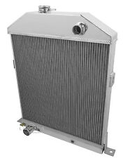 1942 43 44 45 46 47 48 Ford Coupe w/ Chevy Config 3 Row CA Radiator