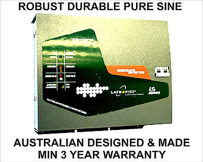 Capable 3kw 3.7kw 1/2hr 24v 110-230vac Pure Sine Inverter German Aussie Designed&made Relieving Heat And Sunstroke