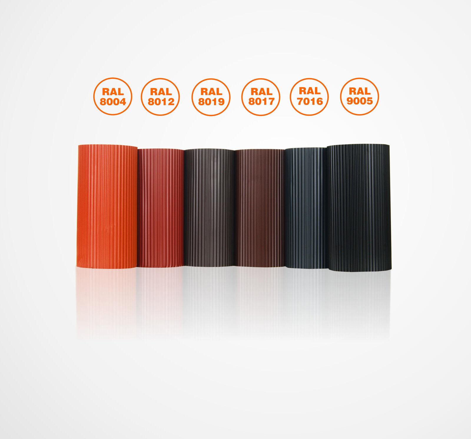 BLEI Plissiert 300mm Kaminanschlussband Wandanschlussband Dachrolle Kaminband