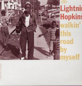 Lightnin-039-Hopkins-Walkin-039-This-Road-By-Myself-New-Vinyl-UK-Import
