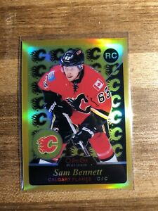 2015-16-opc-platinum-Gold-Rainbow-Retro-149-Sam-Bennett-Rookie