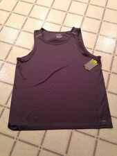 Nwt Men's Tek Gear Basketball/ Training Tank Top, Size XXL, Drytek, Nwt Gray