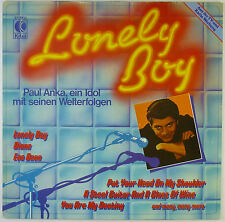 """12"""" LP - Paul Anka - Lonely Boy - k5437 - washed & cleaned"""