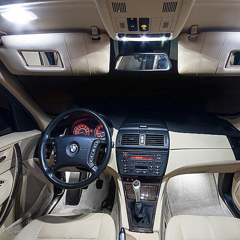 BMW X3 E83 LED KIT PREMIUM INTERIOR 13 SMD White Bulbs Error Free Canbus |  eBay