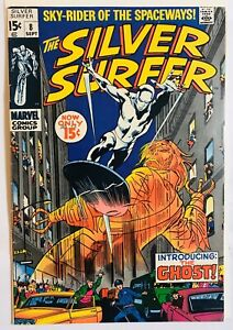 SILVER-SURFER-8-1969-MARVEL-1ST-APP-OF-FLYING-DUTCHMAN-SILVER-AGE