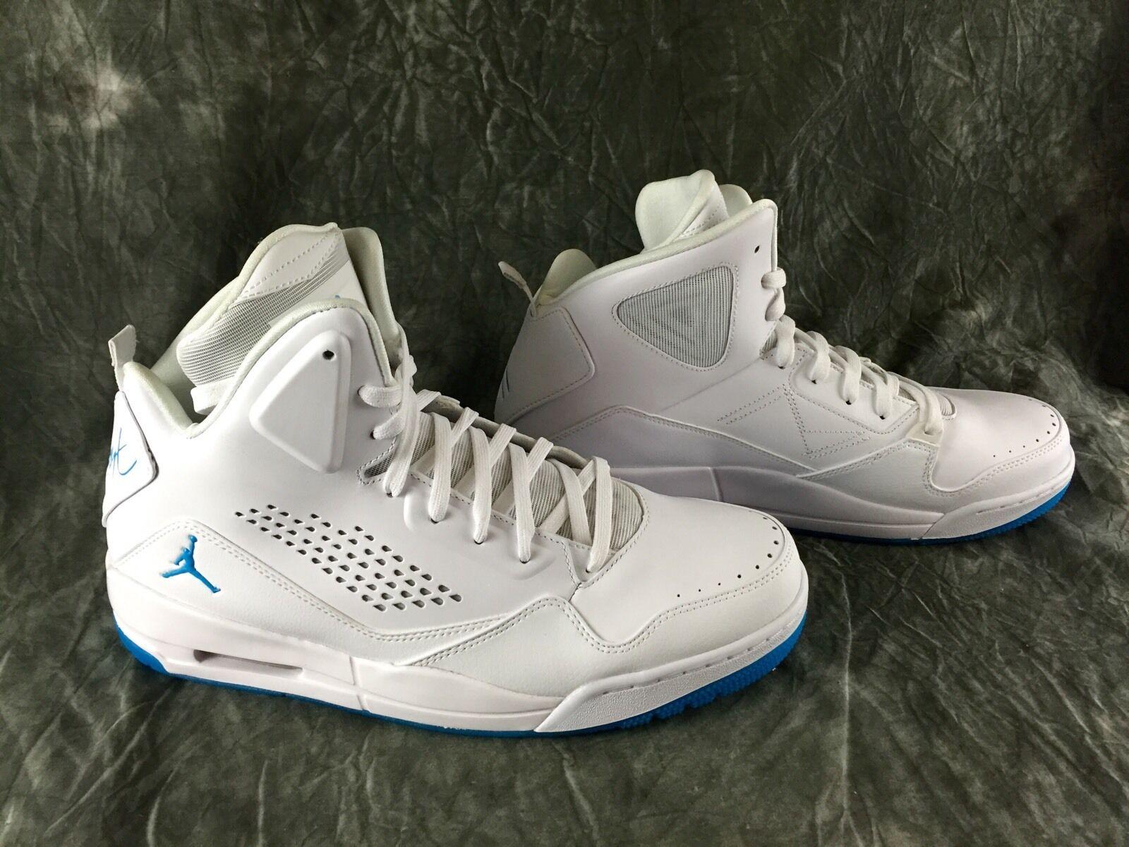 Nueva Nike Jordan sc 3 Prem polvo blanco azul azul azul zapatos 641444-107 Hombre cómodo casual salvaje b4a8cd