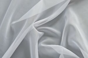 """Black Voile Sold by the Metre 150cm 59/"""" Wide"""
