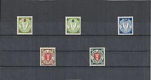 Danzig-Gdansk-1924-1938-Einzelmarken-Michelnrn-205-297-postfrisch