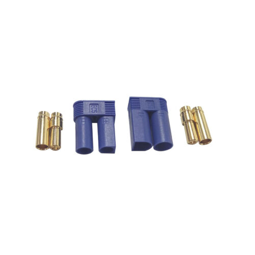 1 Pair EC5 power Connector Gold Bullet Banana Plug Male /& Female for RC battery