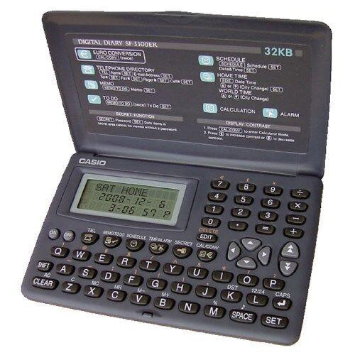 CASIO SF-3300-ER AGENDA ELECTRONICS 32 KB