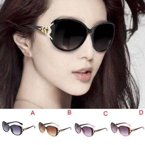 Women Oversized Sunglasses UV400 Huge Shades Outdoor Retro Round Eyew ST