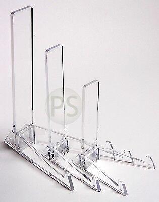 Présentoir de Plastique Vertical :Taille P, M Ou G: Assiette, Photo Cadre, Carte | eBay