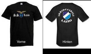 Herren-T-Shirt-Lazio-Front-amp-Ruecken-bis-5XL-Fussball-Rom