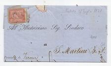 Y460-FRODE POSTALE-VITT.EM.II°-CIRCOLARE DA PADOVA A S.MARTINO B.A.