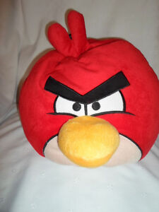 Red-Angry-Birds-Soft-15-034-Pillowy-Plush-Soft-Toy-Stuffed-Animal