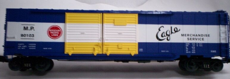 Lionel 6-27858 Missouri Pacific Double Door Box Car