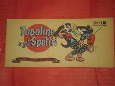 ALBI TASCABILI TOPOLINO-STRISCIA N° 11-c-prima 1° SERIE originale 1948 spettri