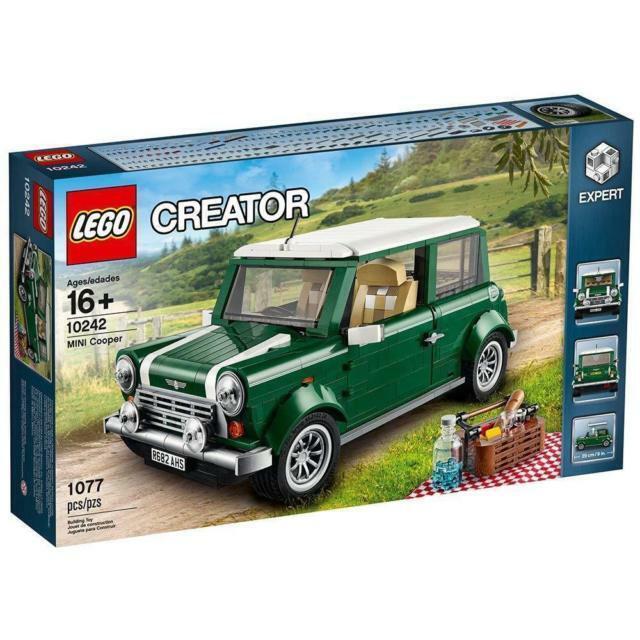LEGO Creator (10242) Mini Cooper (Brand New, Boxed & Factory Sealed)
