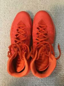Details about NIKE HYPER DUNK ORANGE HIGH TOP SNEAKERS SIZE 13 LIGHTLY WORN NIKE