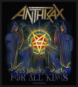 ANTHRAX-For-All-Kings-Patch-Aufnaeher-9x10cm