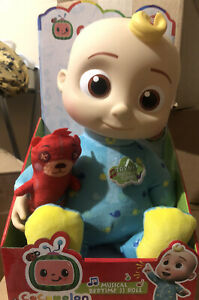 """Cocomelon JJ Doll 10"""" Plush Bedtime Singing Toy Youtube SAME DAY FAST SHIP"""