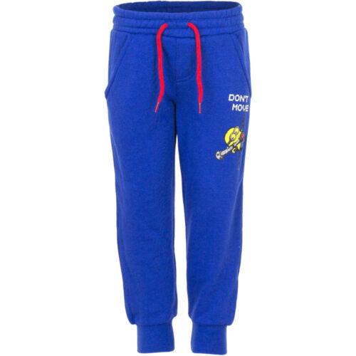 Neu Jungen Sporthose Hose Kinder Jogginghose Minions blau grau 98 104 116 128#47