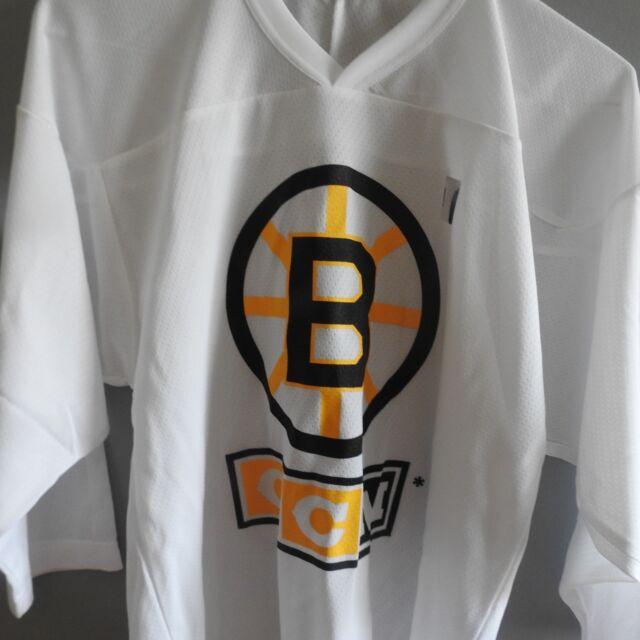 promo code 867bc 1c186 CCM NHL Boston Bruins Practice Hockey Jersey NEW Youth L/XL | eBay