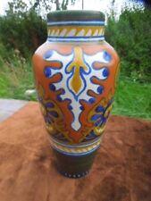 Gouda Vase -  Holland - RHODIAN Pattern - 1924