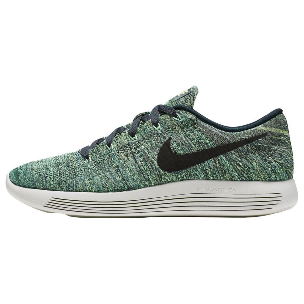 New Nike LunarEpic Low Flyknit Seaweed Black-Green 843764 300 Rare  MSRP 160.00