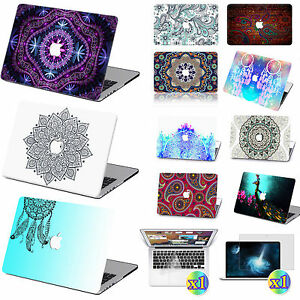 Painted-Bohemia-Prints-Hard-Case-Cover-KB-SP-For-Macbook-Air-11-034-13-Pro-13-034-15-034