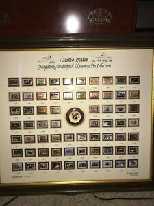 Ducks Unlimited Framed Waterfowl Cloisonne Pin Collection Ebay
