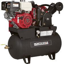 Item 1 Northstar Portable Gas Ed Air Compressor Honda Gx390 Ohv Engine 30gal Tank