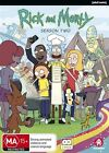Rick And Morty : Season 2 (DVD, 2016, 2-Disc Set)