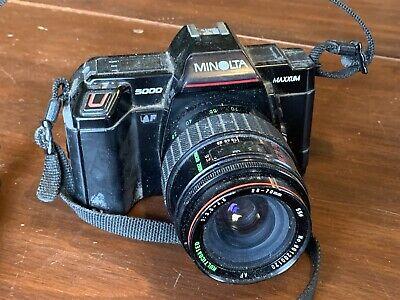 100% QualitäT Minolta 5000 Maxxum Kamera Mit / Sears Modell 202 Af 28-70mm Volumen Groß