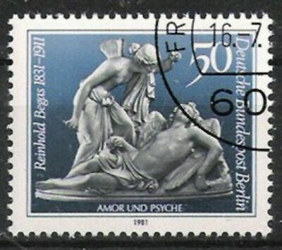 Berlin Nr.647 Reinhold Begas 1981 Berlin 1980-1990 Gestempelt Hohe QualitäT Und Geringer Aufwand Briefmarken